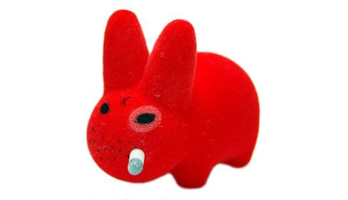 Kid Robot Labbit Packs Gold Pimp Disco Godfather: Red