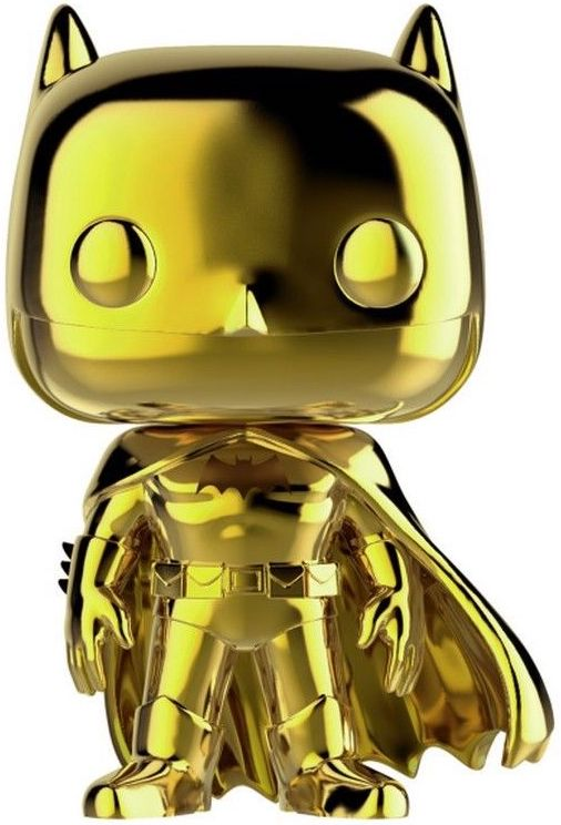 Funko Pop! Heroes Batman (Chrome Gold) Icon