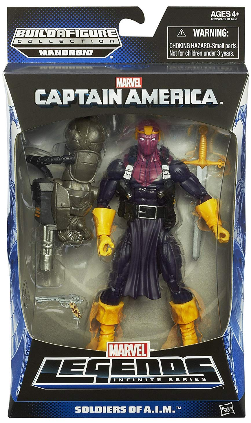 Marvel Legends Mandroid Series Soldier of A.I.M.