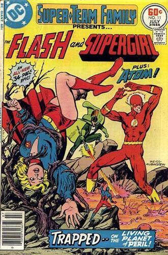DC Comics Super-Team Family (1975 - 1978) Super-Team Family (1975) #11