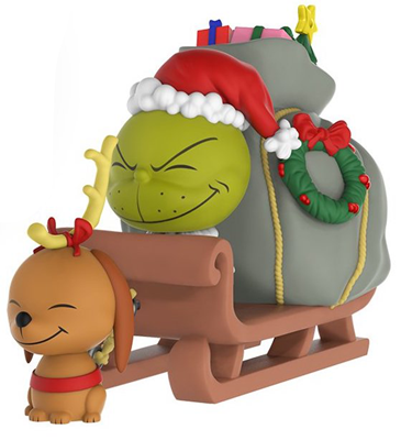 Dorbz Dorbz Ridez The Grinch & Max (w/ Sleigh) Icon