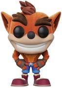 Funko Pop! Games Crash Bandicoot (Flocked)