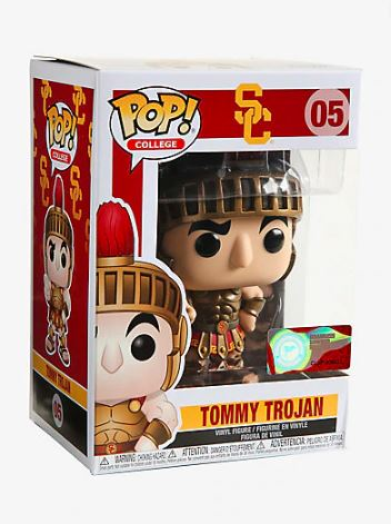 Funko Pop! College Mascots Tommy Trojan Stock