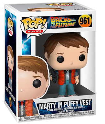 Funko Pop! Movies Marty in Puffy Vest Stock