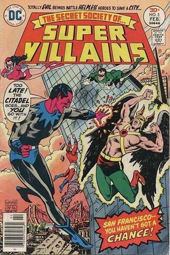 DC Comics Secret Society of Super-Villains (1976 - 1978) Secret Society of Super-Villains (1976) #5 Icon