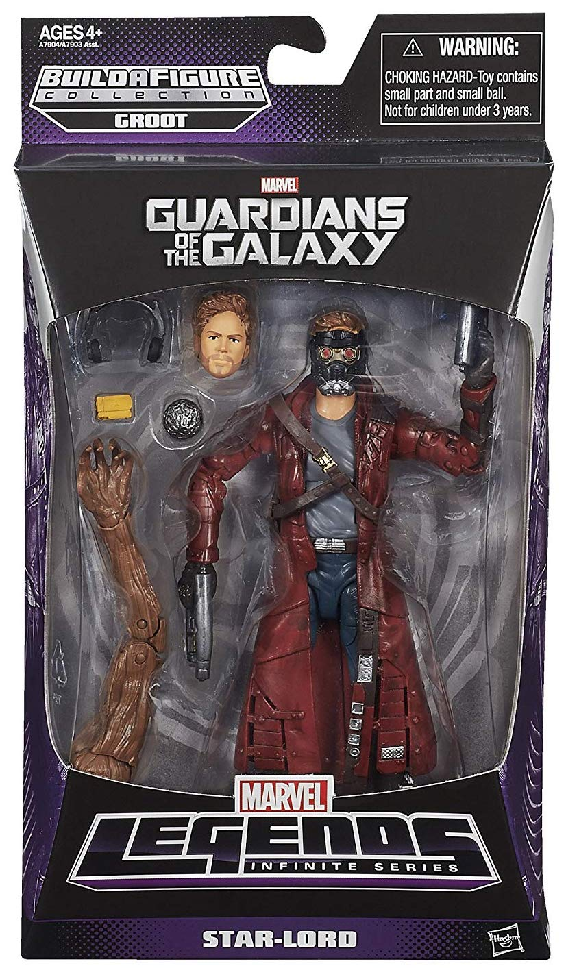 Marvel Legends Groot Series Star-Lord