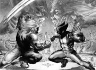 Marvel Comics Wolverine (2003 - 2009) Wolverine (2003) #50 (Black and White Variant)