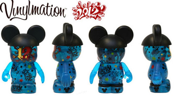Vinylmation Open And Misc 2012 Edition Blue 2012