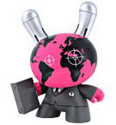 "Kid Robot 8"" Dunnys War Head"