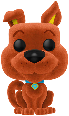 Funko Pop! Animation Scooby-Doo (Flocked) - Orange