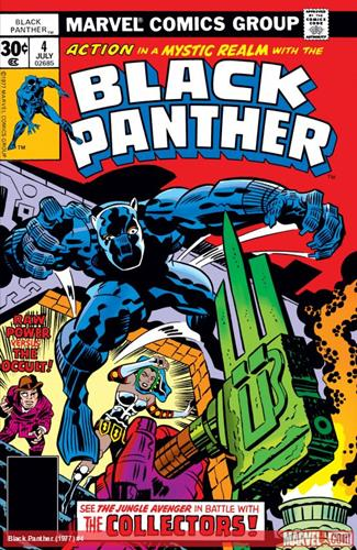 Marvel Comics Black Panther (1977 - 1979) Black Panther (1977) #4