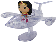 Funko Pop! Rides Invisible Jet w/ Wonder Woman