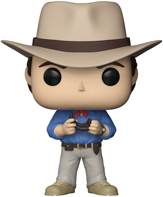 Funko Pop! Movies Dr. Alan Grant Icon