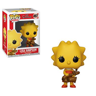 Funko Pop! Animation Lisa Simpson w/ Saxophone