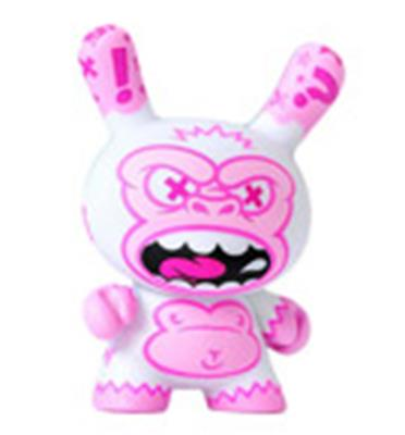 Kid Robot Special Edition Dunny White Ape Stock