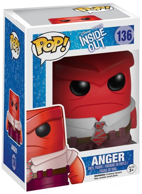 Funko Pop! Disney Anger Stock
