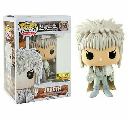 Funko Pop! Movies Jareth (White Outfit) Stock