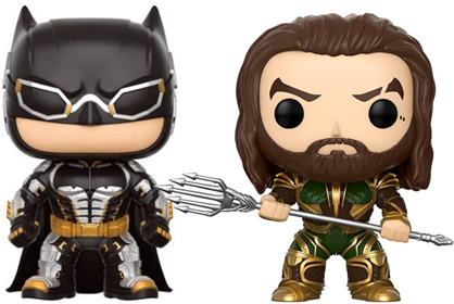 Funko Pop! Heroes Batman and Aquaman (Justice League)