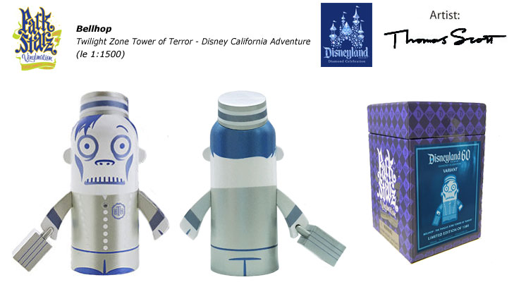Vinylmation Open And Misc 60th Diamond Celebration Bellhop - Tower of Terror