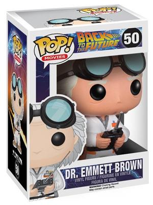 Funko Pop! Movies Dr. Emmett Brown Stock