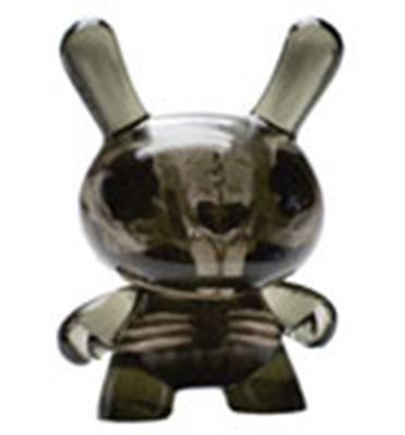 Kid Robot Special Edition Dunny Smoke: Bone Skeleton Infected