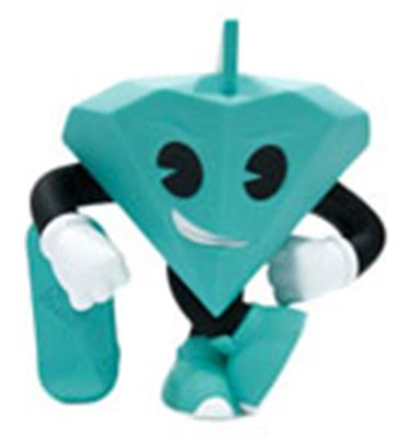Kid Robot Art Figures Tiffany 8""