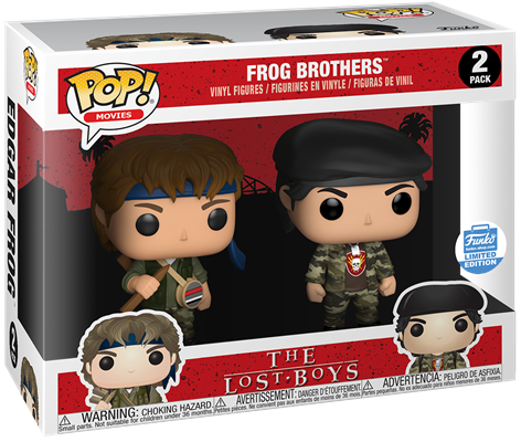 Funko Pop! Movies Frog Brothers Stock
