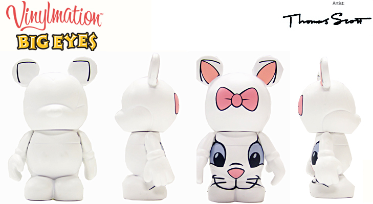 Vinylmation Open And Misc Big Eyes Marie