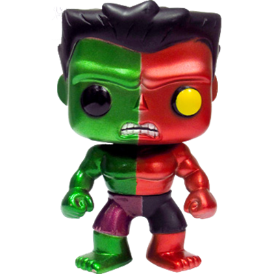 Funko Pop! Marvel Hulk (Compound) - Metallic
