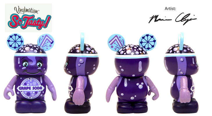 Vinylmation Open And Misc So Tasty Grape Soda