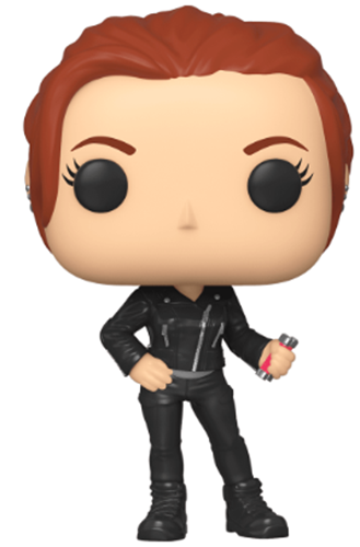 Funko Pop! Marvel Black Widow (Gray Suit)