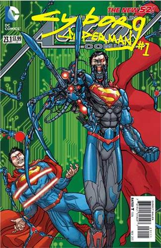DC Comics Action Comics (2011 - 2016) Action Comics (2011) #23.1A Icon