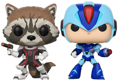 Funko Pop! Games Rocket vs. Mega Man
