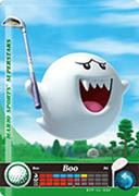 Amiibo Cards Mario Sports Superstars Boo - Golf