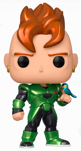Funko Pop! Animation Android 16 (Metallic)