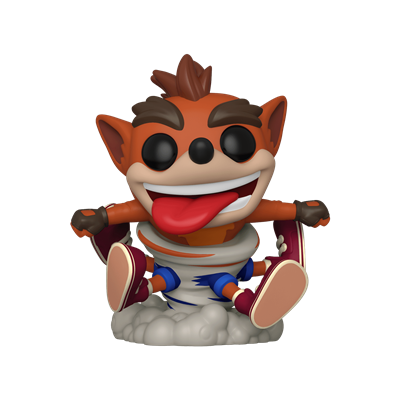 Funko Pop! Games Crash Spinning