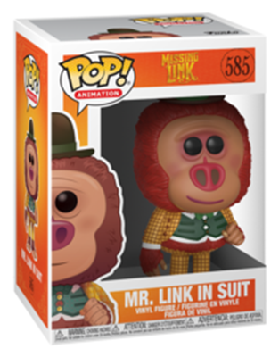 Funko Pop! Animation Mr. Link In Suit Stock