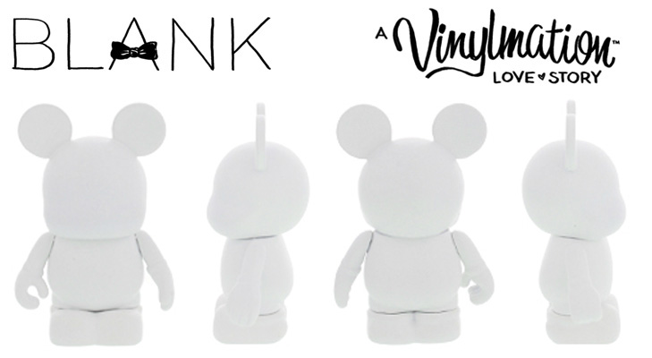 Vinylmation Open And Misc BLANK Mickey