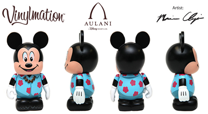 Vinylmation Open And Misc Disney Vacation Club Aulani Mickey