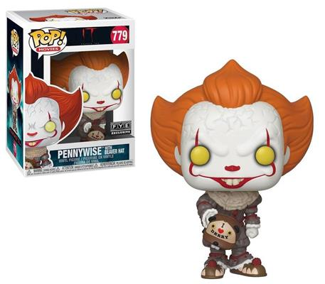 Funko Pop! Movies Pennywise with Beaver Hat Stock
