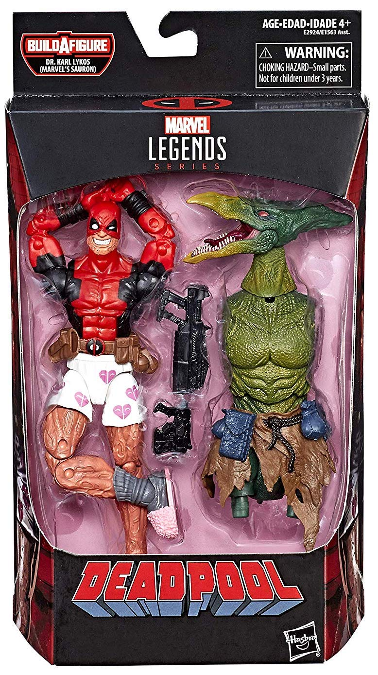 Marvel Legends Sauron Series Deadpool (No Pants)
