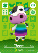 Amiibo Cards Animal Crossing Series 2 Tipper