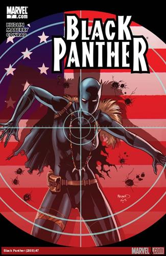 Marvel Comics Black Panther (2008 - 2010) Black Panther (2008) #7