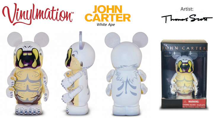 Vinylmation Open And Misc John Carter White Ape