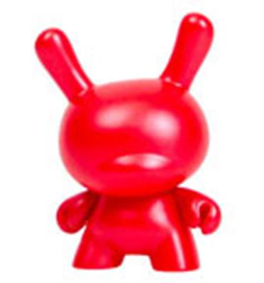 Kid Robot Special Edition Dunny 10th Anniversary (Red) Stock