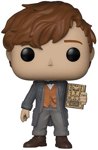 Funko Pop! Fantastic Beasts Newt Scamander (Chase) Icon