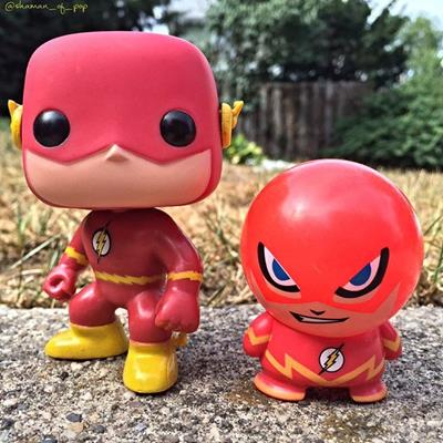 Funko Pop! Heroes The Flash shaman_of_pop on instagram.com