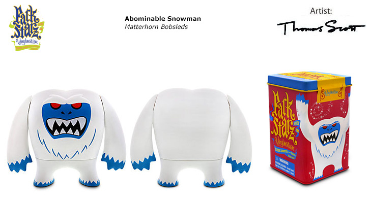 Vinylmation Open And Misc Park Starz 3 Abominable Snowman