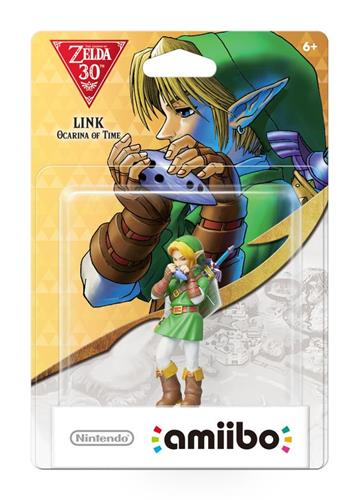 Amiibo The Legend of Zelda Link (Ocarina of Time) Stock