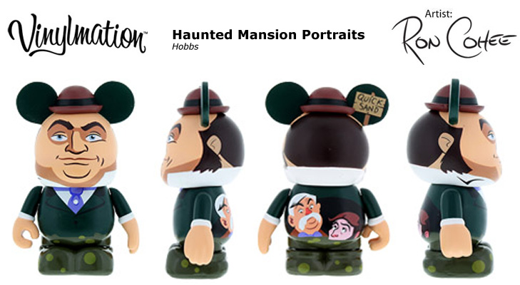 Vinylmation Open And Misc Haunted Mansion Portraits Hobbs - quicksand